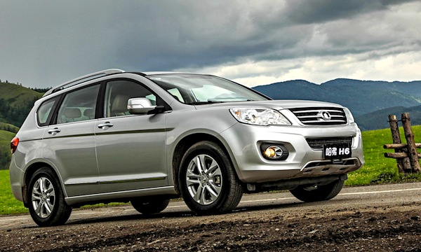 Great Wall Haval H6. Picture courtesy of www.zr.ru