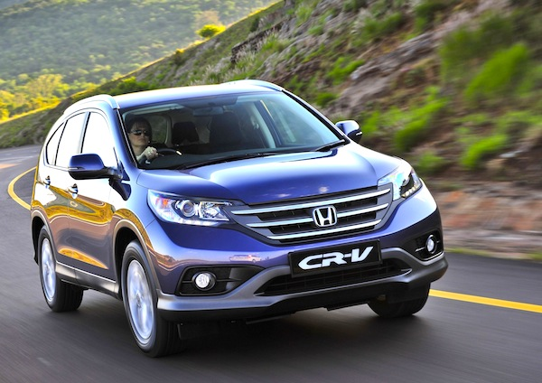 Honda CR-V. Picture courtesy of Honda