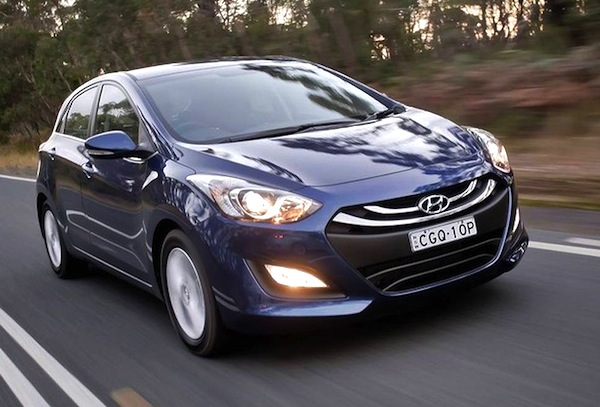 Hyundai i30 Australia 2012. Picture courtesy of drive.com.au