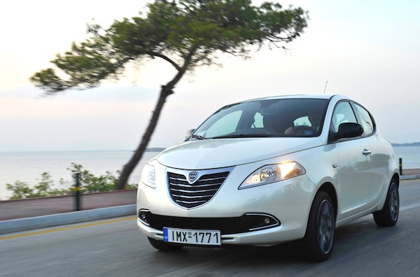 Lancia Ypsilon Greece 2013