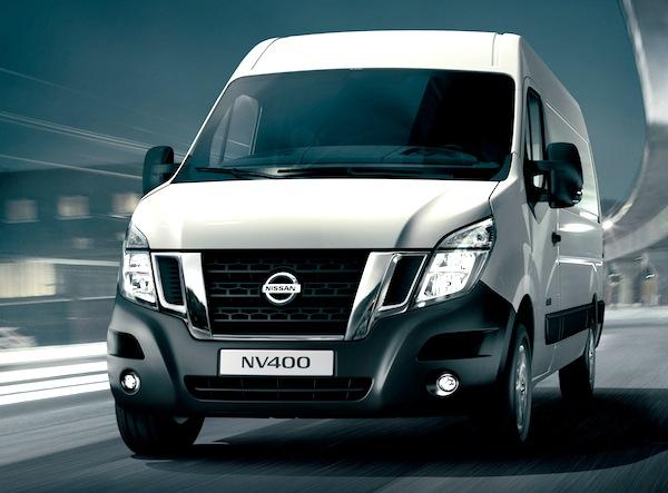 Nissan NV400 France 2012