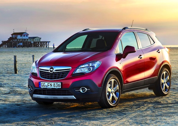 Opel Mokka Greece September 2013