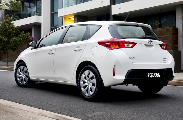 new zealand full year 2012 corolla 1 for 5th year in a