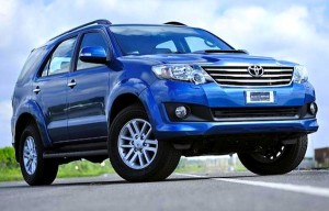 Toyota Fortuner Vietnam November 2012