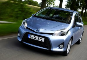Toyota Yaris Norway 2012