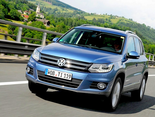 VW Tiguan Germany May 2014