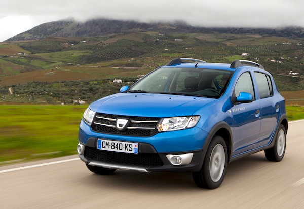 Dacia Sandero New Caledonia March 2014