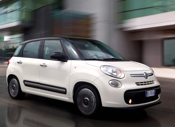 Fiat 500L. Picture courtesy of Fiat