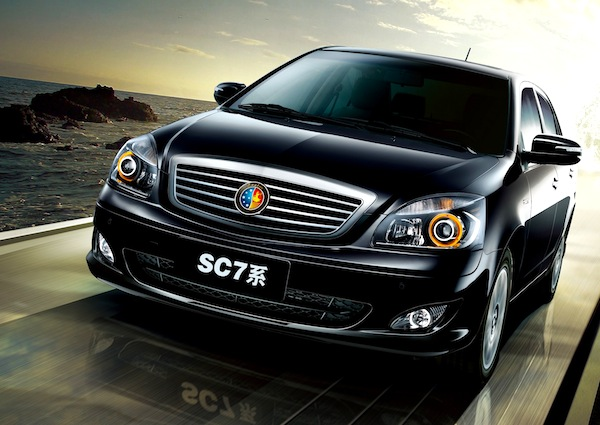 Geely SC7. Picture courtesy of Geely