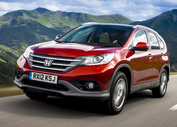 Honda CR-V Estonia 2013