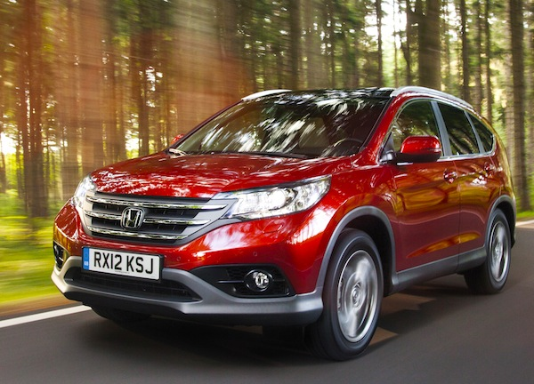 Honda CR-V Germany June 2014