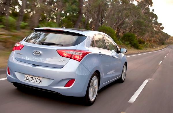 Hyundai i30 Israel January 2013