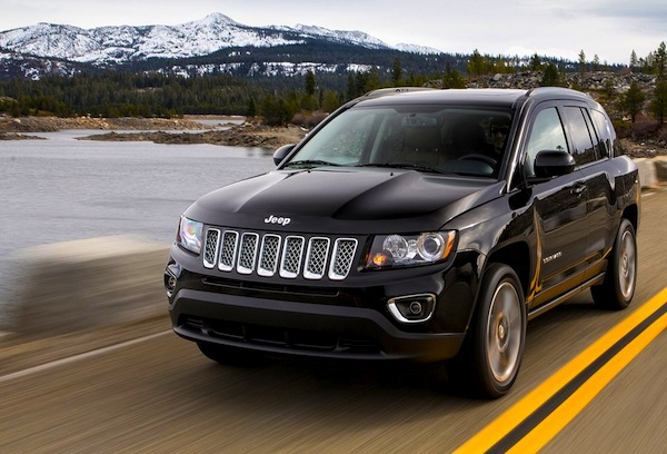 Jeep Compass Canada January 2013