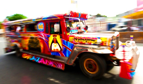 Jeepney Philippines January 2013. Picture courtesy of CNN