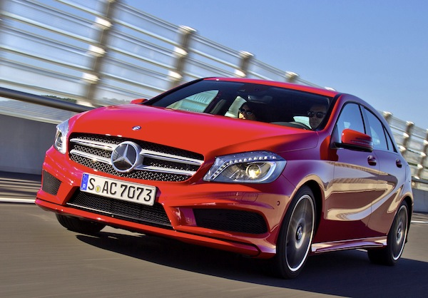 Mercedes A Class Switzerland January 2013