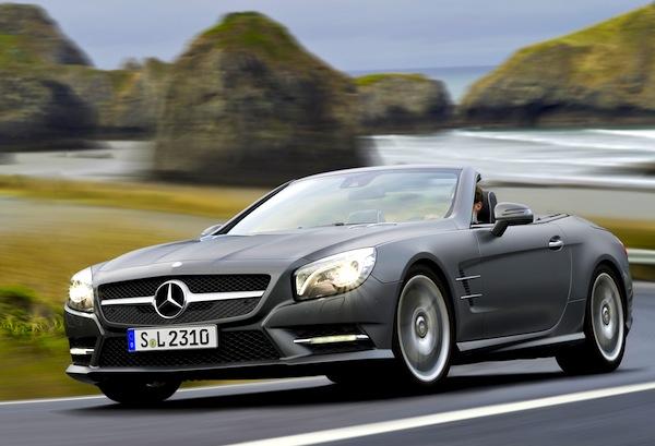 Mercedes SL Europe 2012