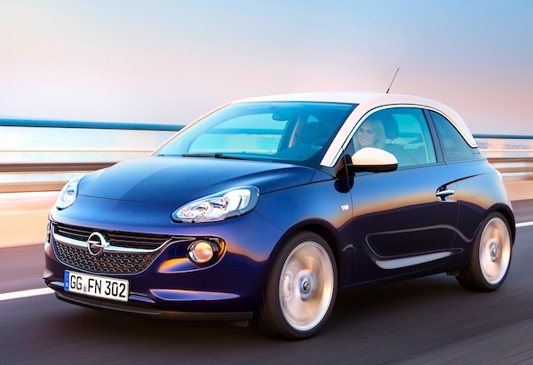 Opel Adam Germany January 2013