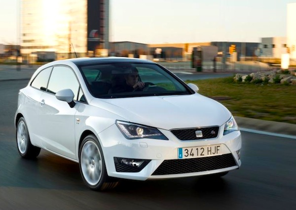 Seat Ibiza Germany January 2013