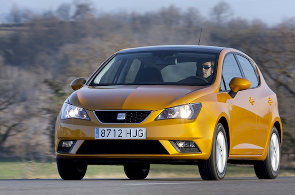 Seat Ibiza. Picture courtesy of Seat