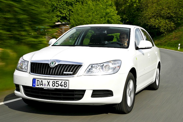 Skoda Octavia Switzerland January 2013