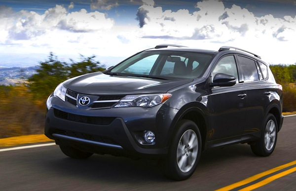 Toyota RAV4. Picture courtesy of Toyota