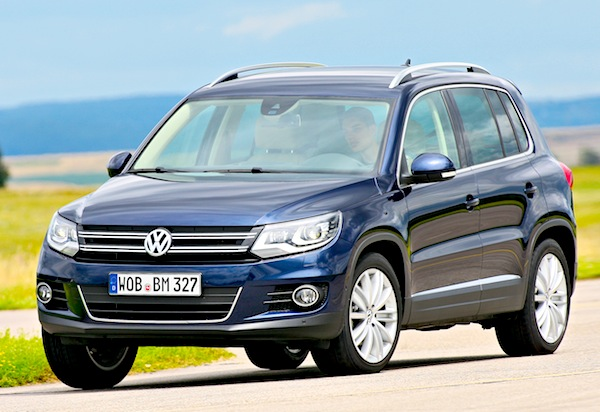VW Tiguan Germany January 2013