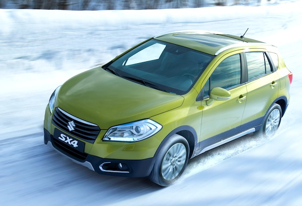 2013 Suzuki SX4 Switzerland February 2013