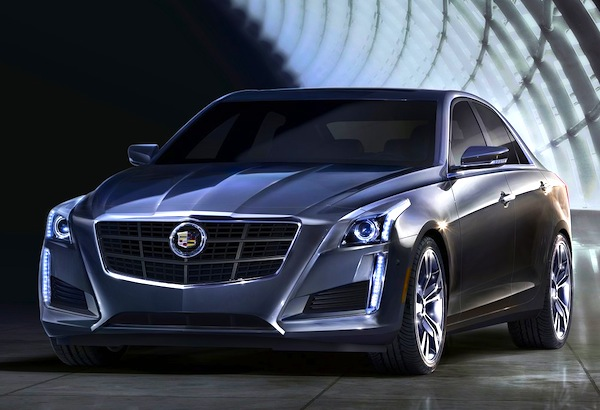 2014 Cadillac CTS USA March 2013