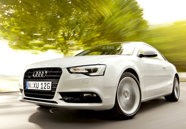 Audi A5 Brazil April 2014