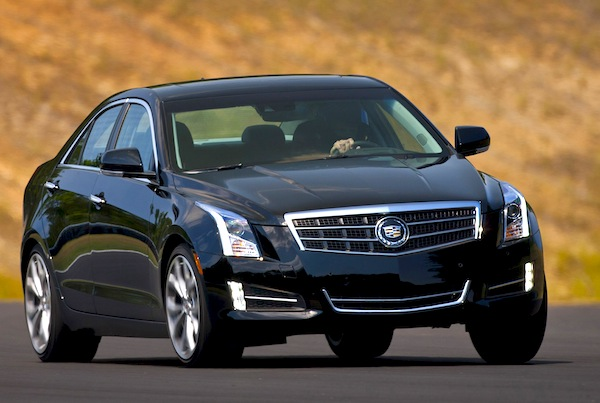Cadillac ATS USA February 2013