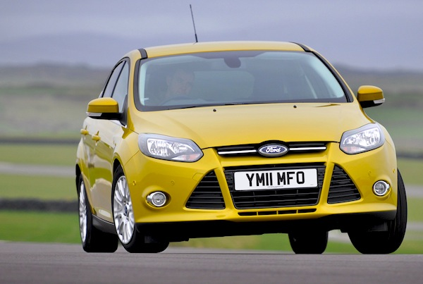 Ford Focus UK February 2013