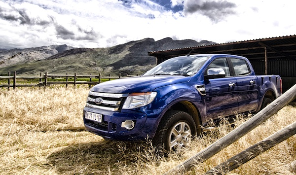 Ford Ranger South Africa April 2014