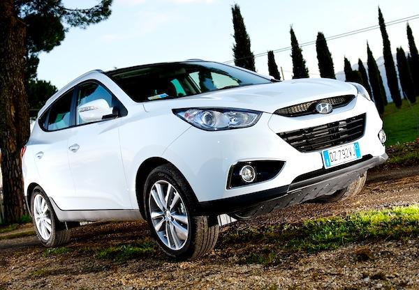 Hyundai ix35 Cyprus 2012