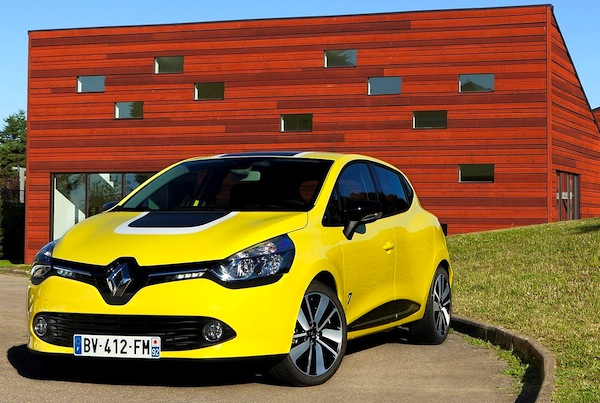 Renault Clio Slovenia February 2013
