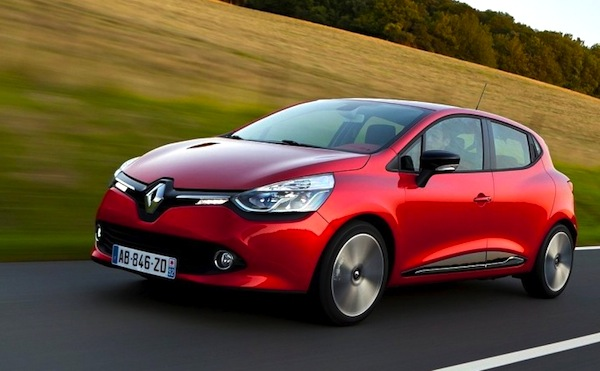 Renault Clio Turkey January 2013