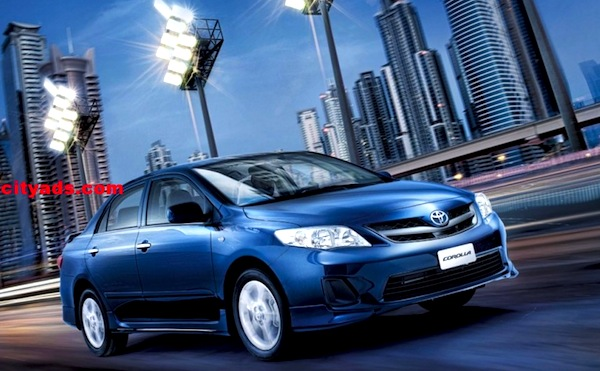 Toyota Corolla Saudi Arabia February 2013