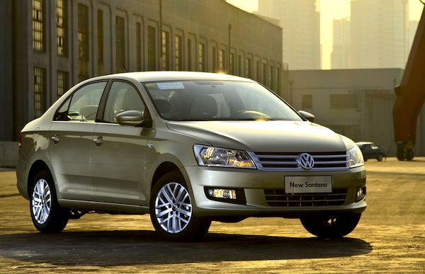 VW Santana China July 2014. Picture courtesy of pic.autov.com.cn