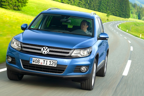 VW Tiguan Germany November 2013