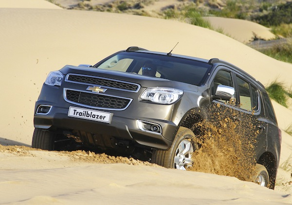 Chevrolet Trailblazer Qatar January 2013