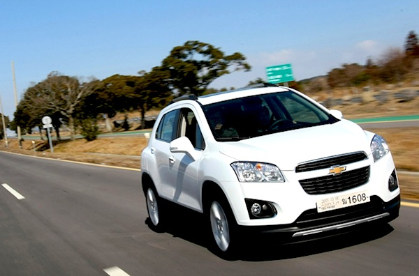 Chevrolet Trax South Korea March 2013
