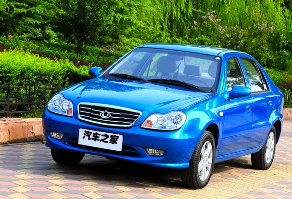 Geely CK. Picture courtesy of Geely