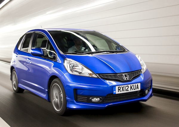 Honda Jazz Switzerland March 2013