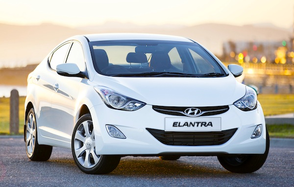 Hyundai Elantra Gulf January 2013