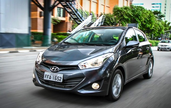 Hyundai HB20 Brazil September 2014. Picture courtesy of CarPlace