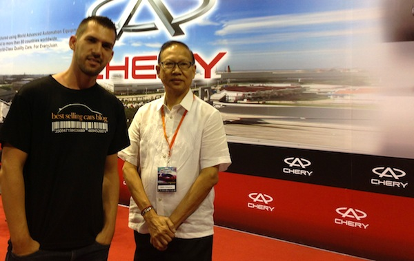 Manila Auto Show Chery2