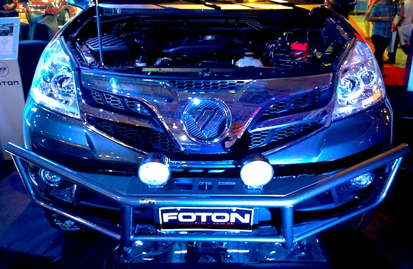 Manila Auto Show Foton Tunland. Picture courtesy of Matt Gasnier