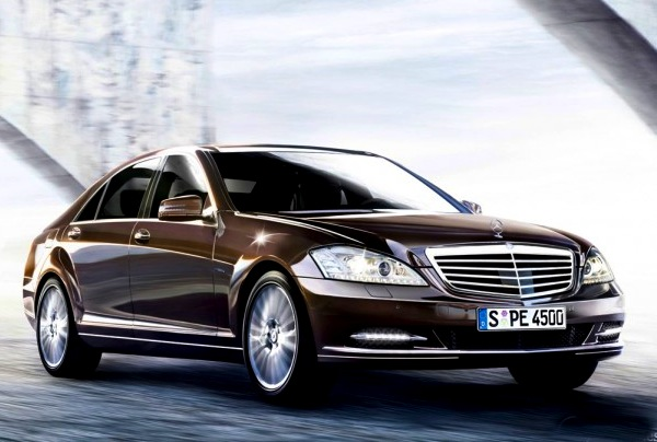 Mercedes S Class Qatar January 2013