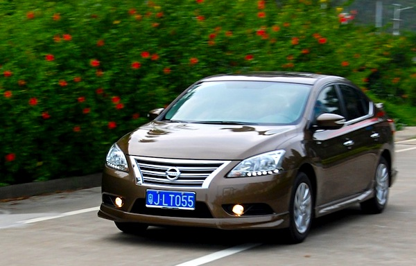 Nissan Sylphy China November 2013. Picture courtesy of bitauto.com