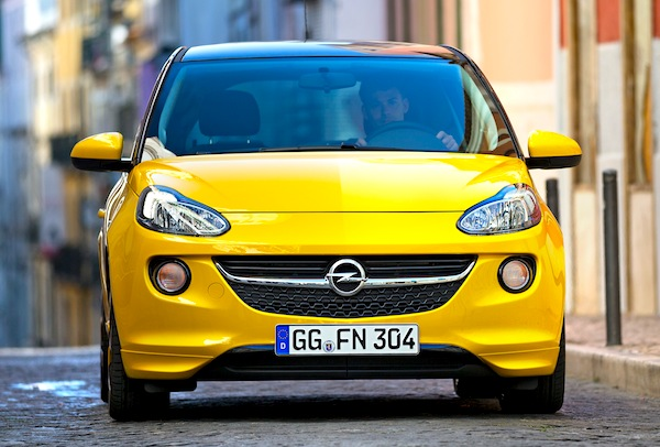 Opel Adam Germany March 2013