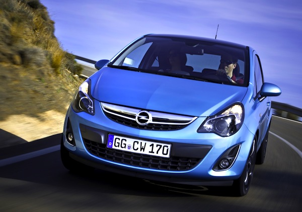 Opel Corsa Spain June 2014